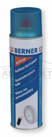 Berner aktív gumiabroncs hab 500ml