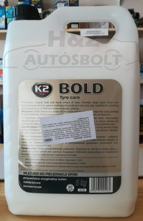 K2 Bold gumiápoló folyadék 5l