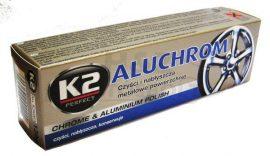 K2 Aluchrom alumínium és krómtisztító-ápoló paszta 120gr