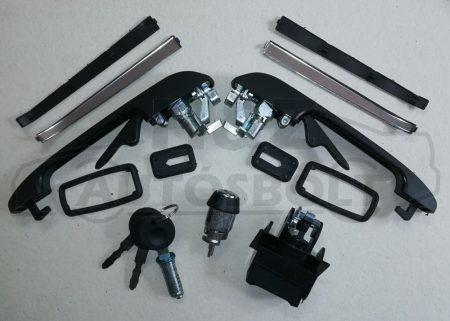 VW Golf2/Jetta2 zár/kilincs szett (egykulcsosító szett)