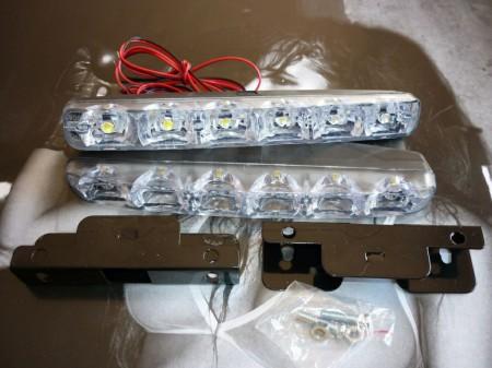 LED nappali menetfény E4, DRL szabványos
