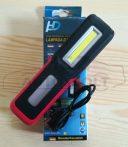 COB LED szerelőlámpa akkumulátor, MicroUSB