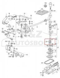VW Golf2/Jetta2 gyári váltókar rugó