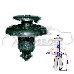 Sárvédő dobbetét patent Mazda, Lexus, Nissan, Subaru