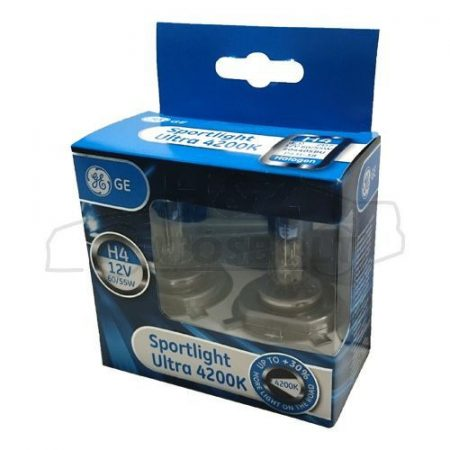GE /Tungsram/ SportLight Ultra 4200K 60/55W H4 izzó pár