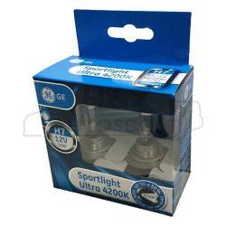 GE /Tungsram/ SportLight Ultra 4200K 55W H7 izzó pár