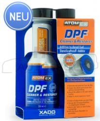Xado Atomex DPF cleaner részecskeszűrő tisztító/ápoló adalék 250ml